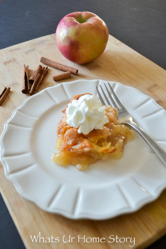 The easiest apple dessert you'll ever make- Apple Dumplings
