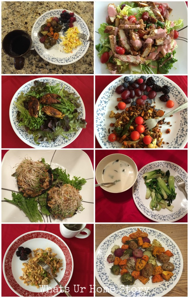 My Whole30 diet meals