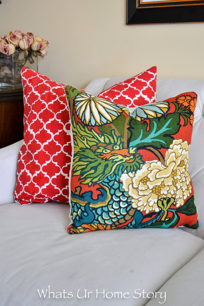 how to make a pillow cover with invisible zipper whats ur home story. Black Bedroom Furniture Sets. Home Design Ideas