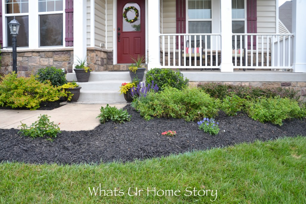 front yard bed-plant ideas