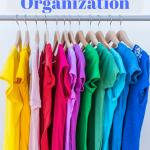 Spring Cleaning: Closet Organization