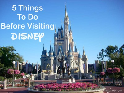 5 Things to do Before Visiting Disney