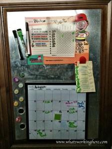 Chore Chart and Calendar