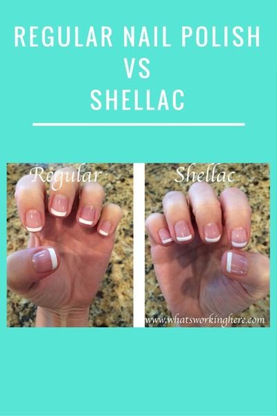 Regular Nail Polish vs Shellac