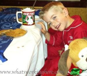 Hot Chocolate on the Polar Express