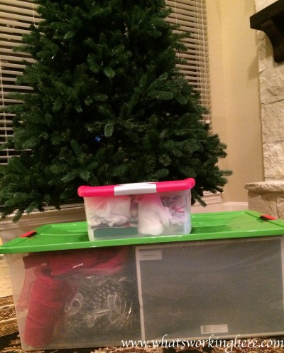 Christmas Tree and Ornament box