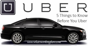 5 Things to Know Before You Uber