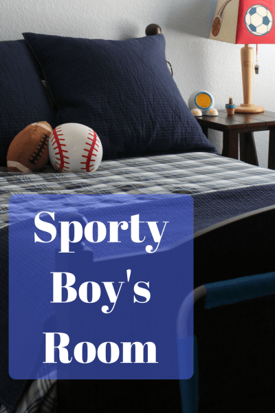 Sporty Boy's Room