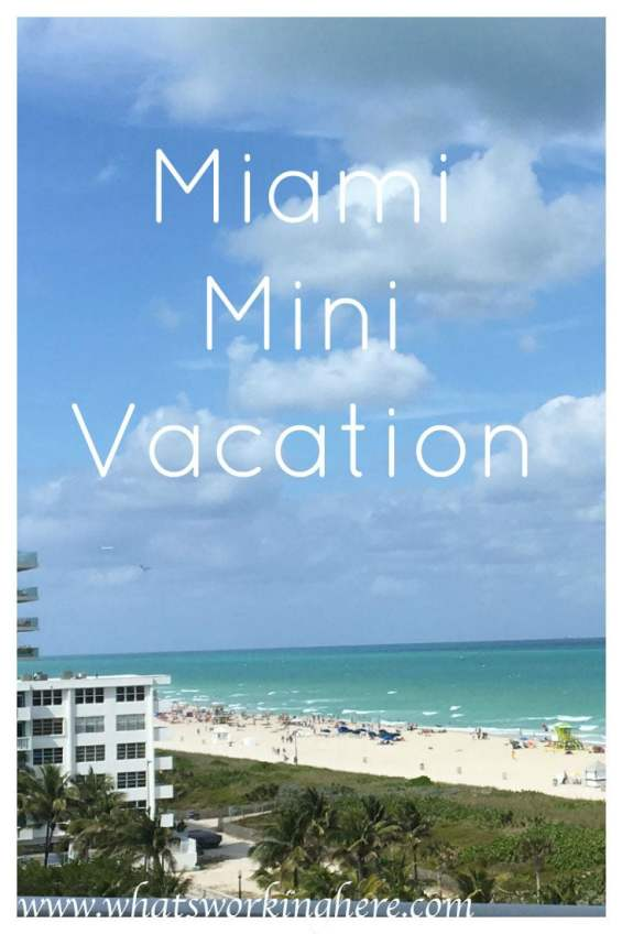 miami mini vacation