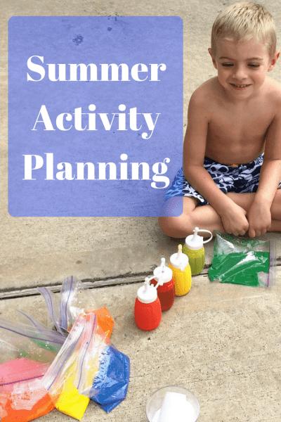 Summer Activity Planning -fb