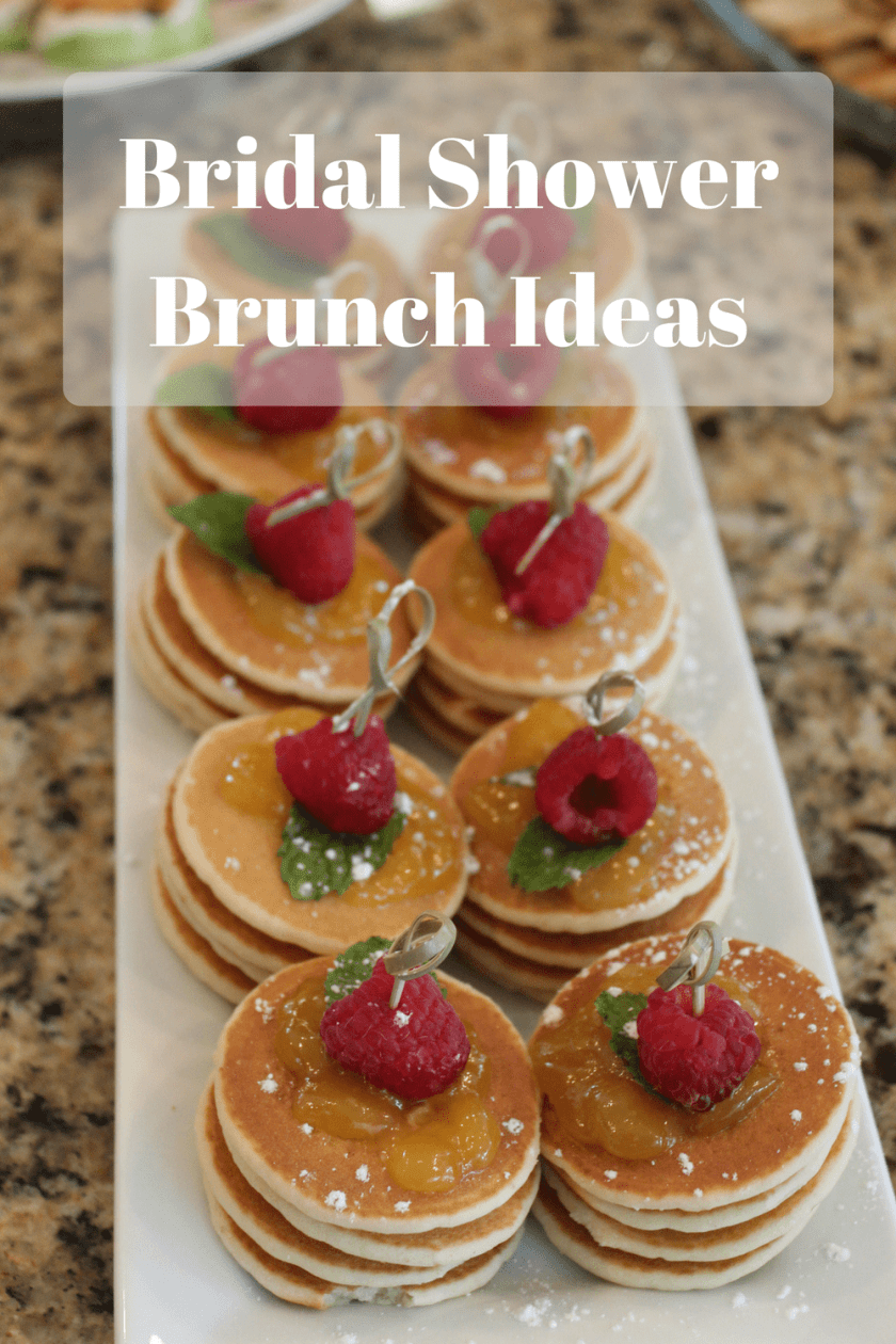 bridal shower brunch ideas whats working here