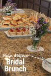 Bridal Shower Brunch Ideas