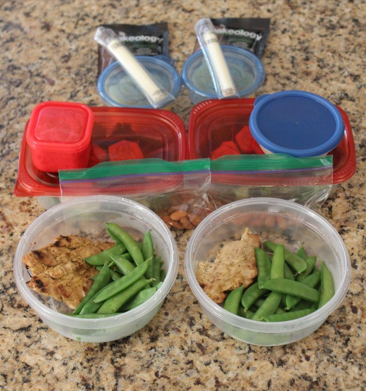 Meal Prep-One day of food