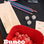 Hosting Bunco Night