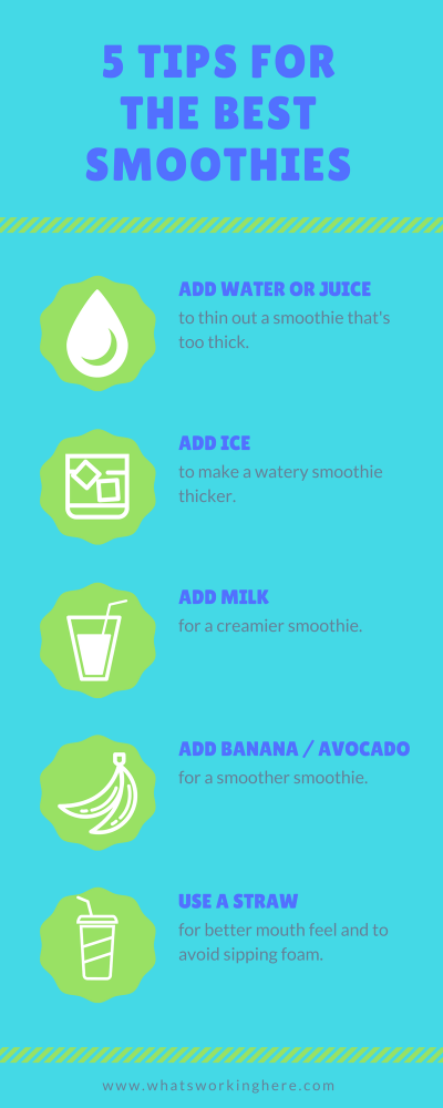 5 Tips forThe Best Smoothies