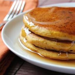 Pumpkin Pancakes from All Recipes