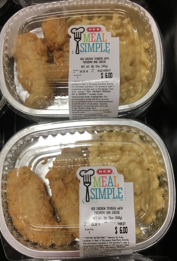 HEB Meal Simple -Kid's Favorites