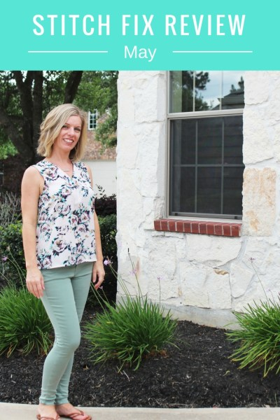 May Stitch Fix Review Title