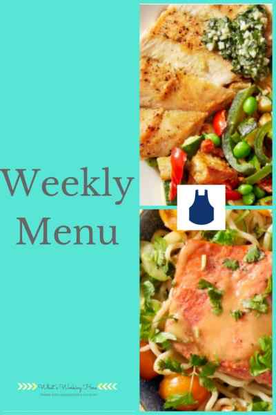 August 6th Weekly Menu