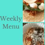 Weekly Menu 11/26/17 – Freezer Meals