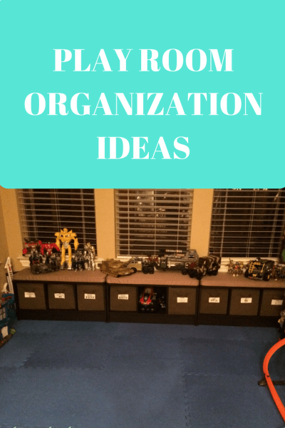 Play Room Organization Ideas