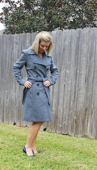 Stitch Fix Bagatelle trench coat