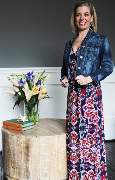Stitch Fix -Loveappella Maxi with jacket