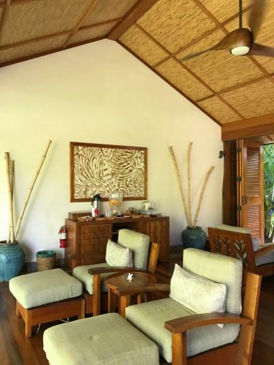 Anara Spa massage waiting area