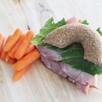 Healthy Bagel Sandwich