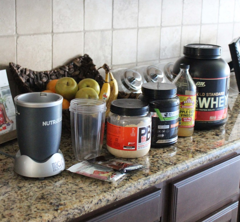Before smoothie station
