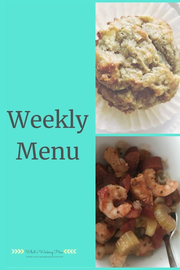 Dec 9th Weekly Menu - Easy Warm Meals