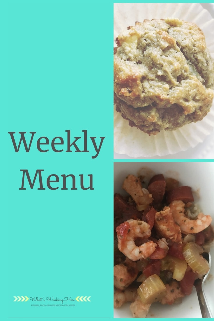 Dec 9th Weekly Menu - Easy Warm Meals
