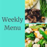 Weekly Menu 10/14/18 – 21 Day Fix Extreme