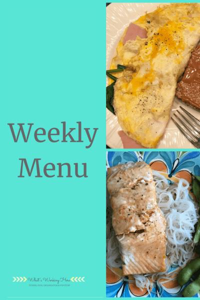 Sept 2 Weekly Menu- Breakfast for dinner