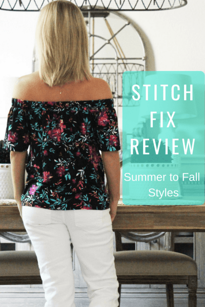 Stitch Fix Summer to Fall Styles