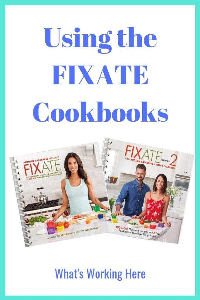 Using The FIXATE Cookbooks, FIXATE VOL 1 & FIXATE VOL 2