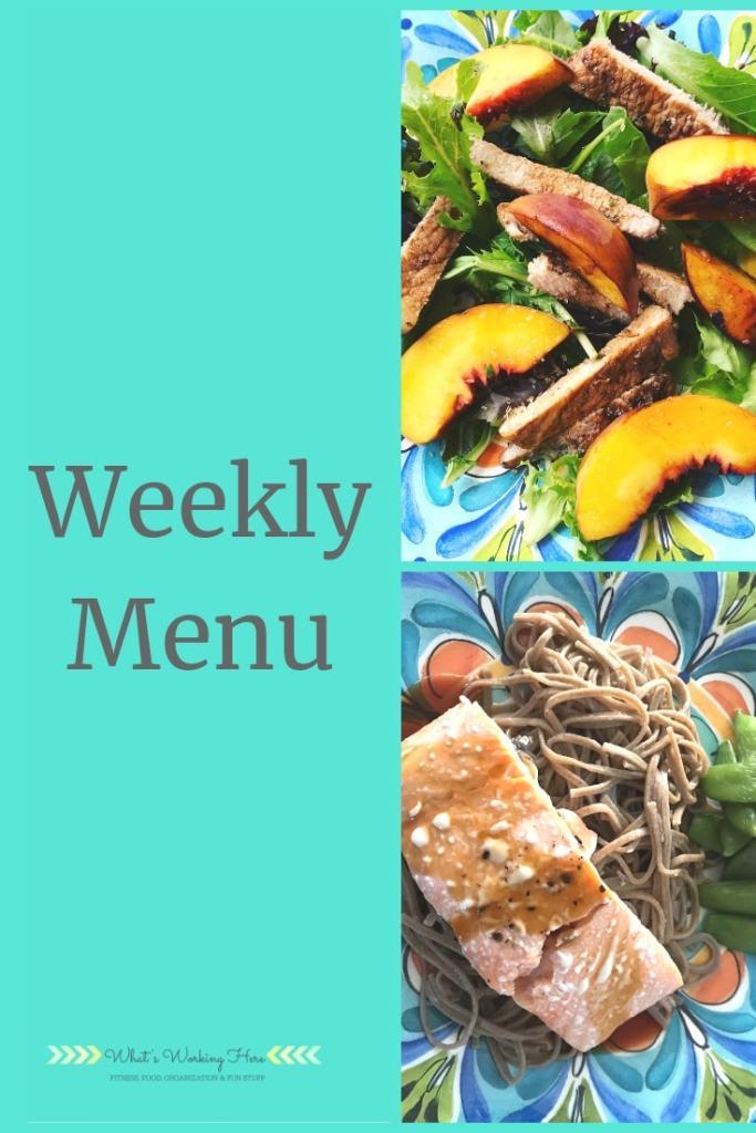 Weekly menu- sep 1