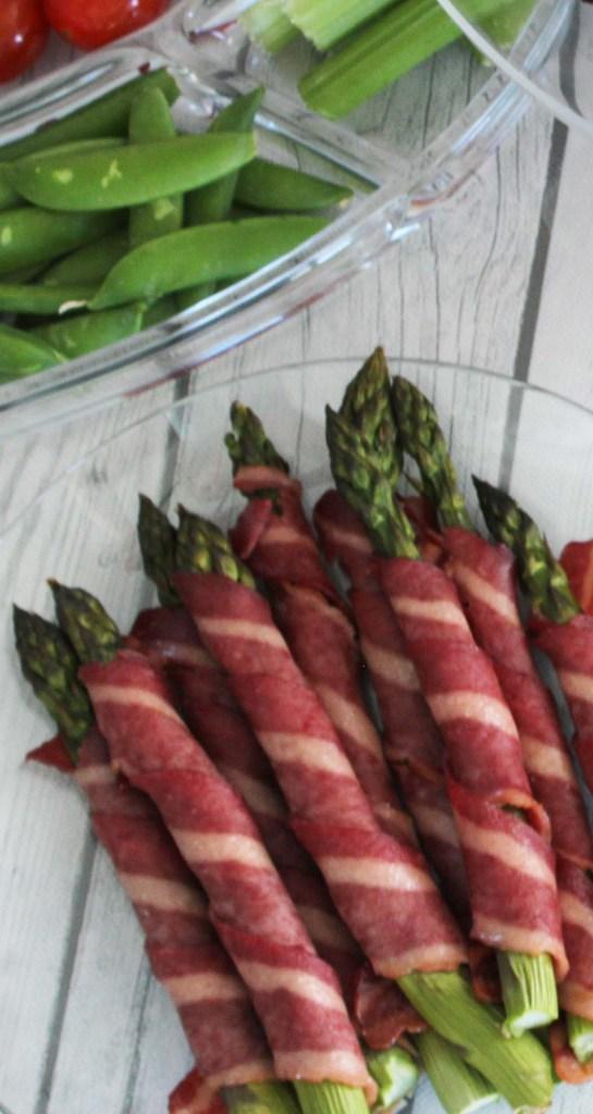 bacon wrapped asparagus -fixate