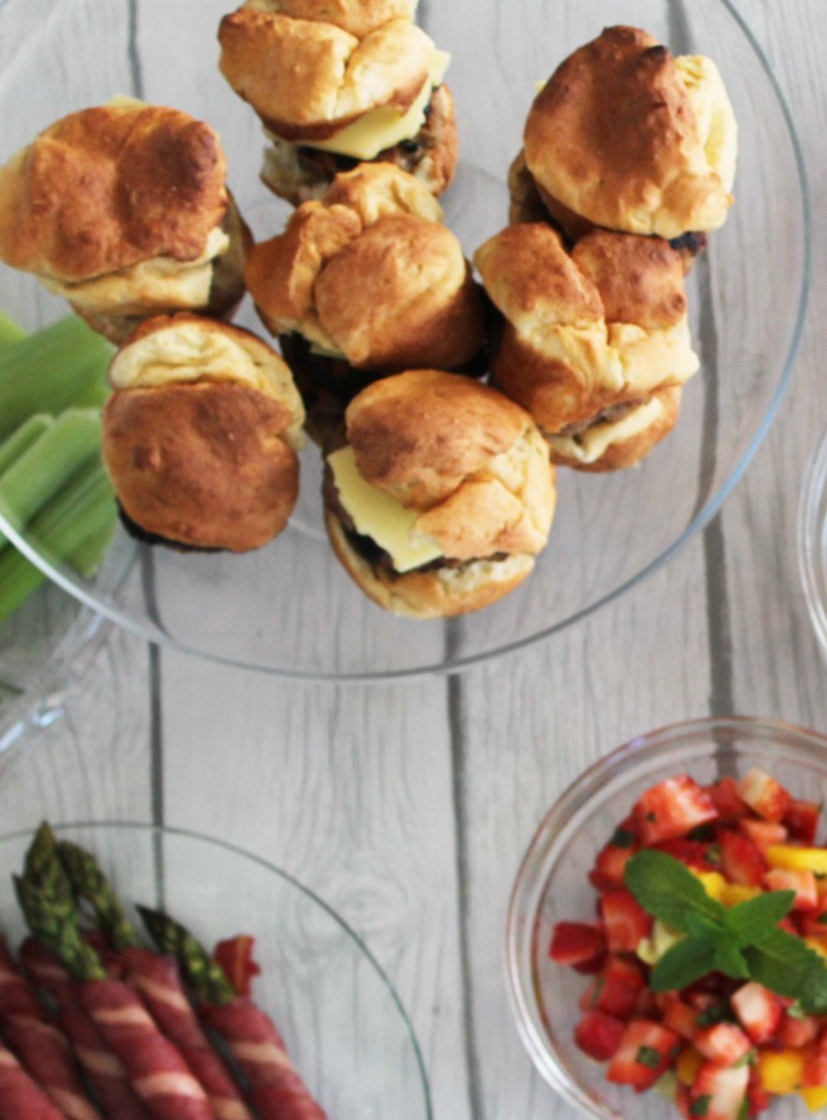 maple rosemary english muffin sausage sandwiches- fixate