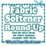 Best Deals on Fabric Softener This week