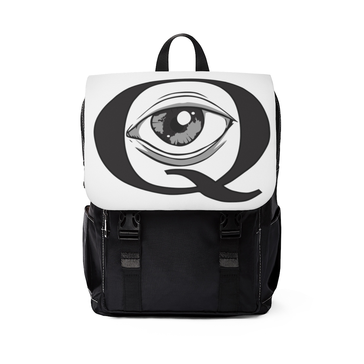 Printify Back Pack 5 – What's Your Eye Q
