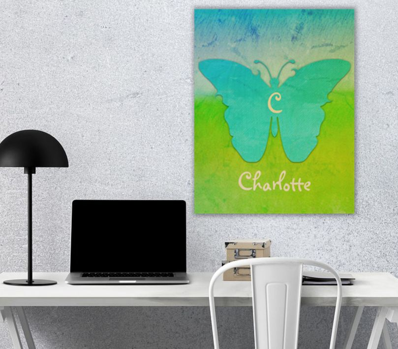 Personalized Wood Wall Decor by Patricia Griffin