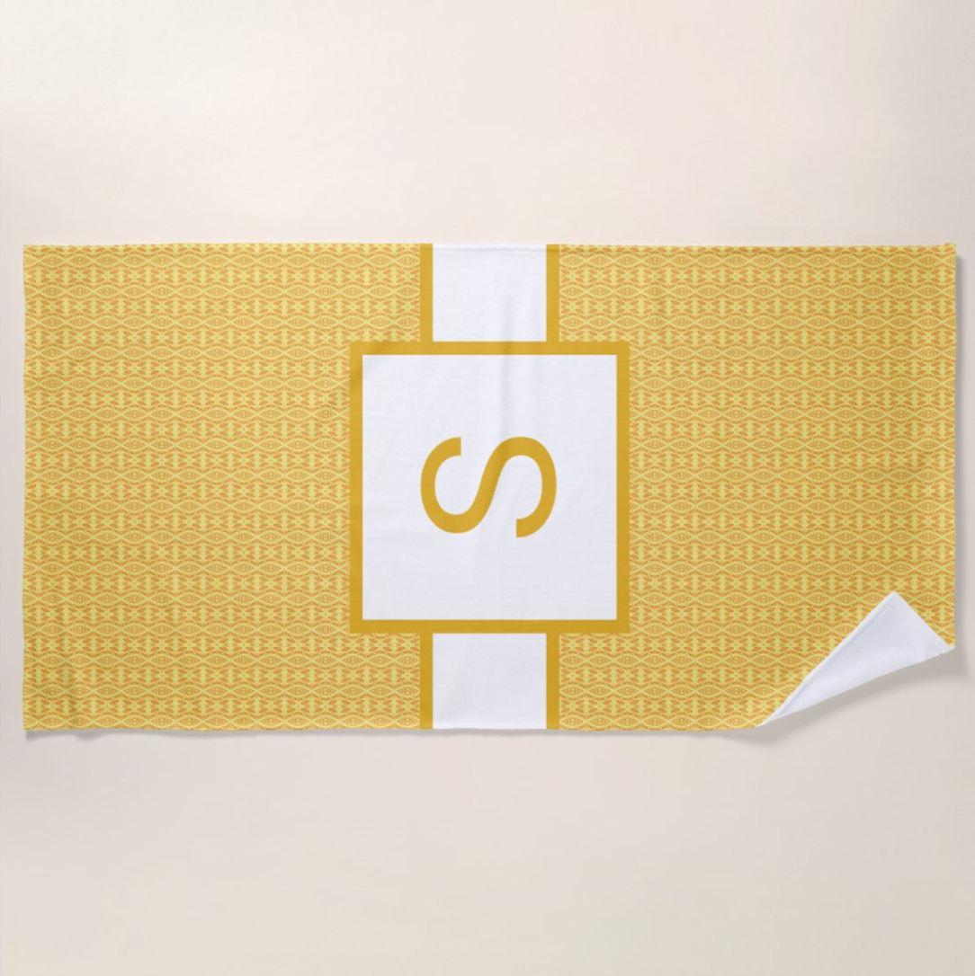 inital S towel3