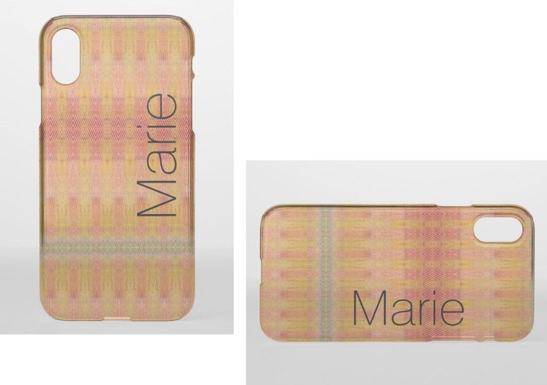 Marie phone case