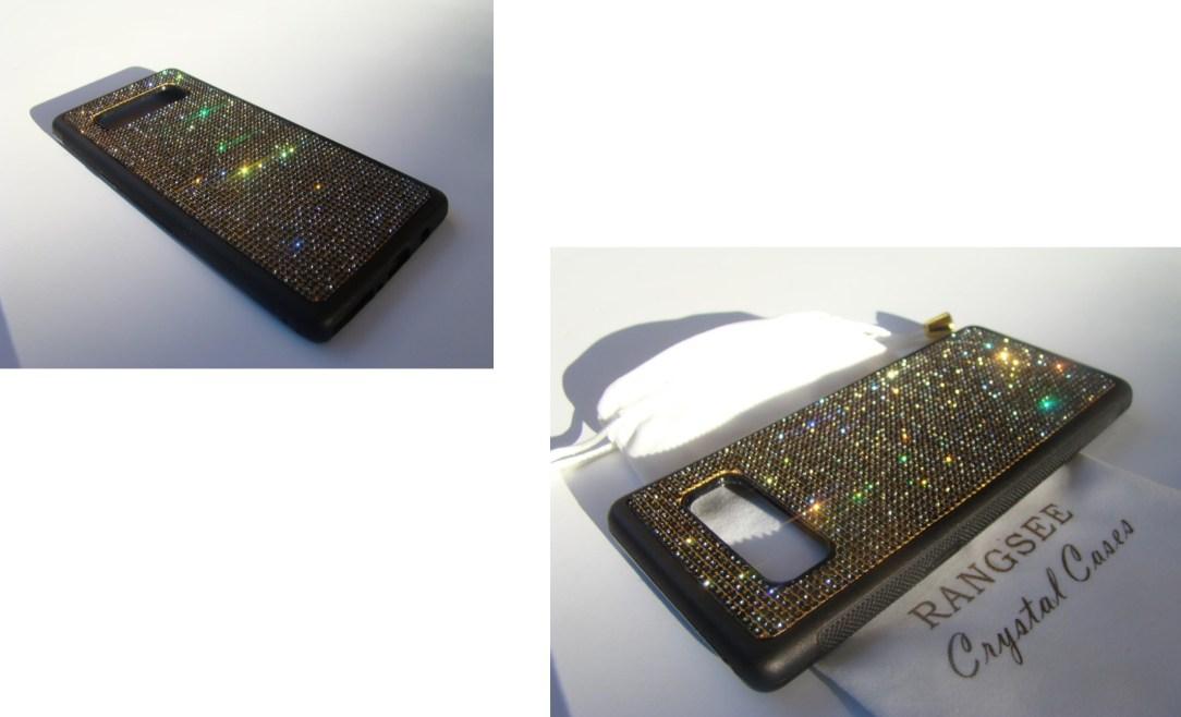 Samsung Note crystal case (gem names)
