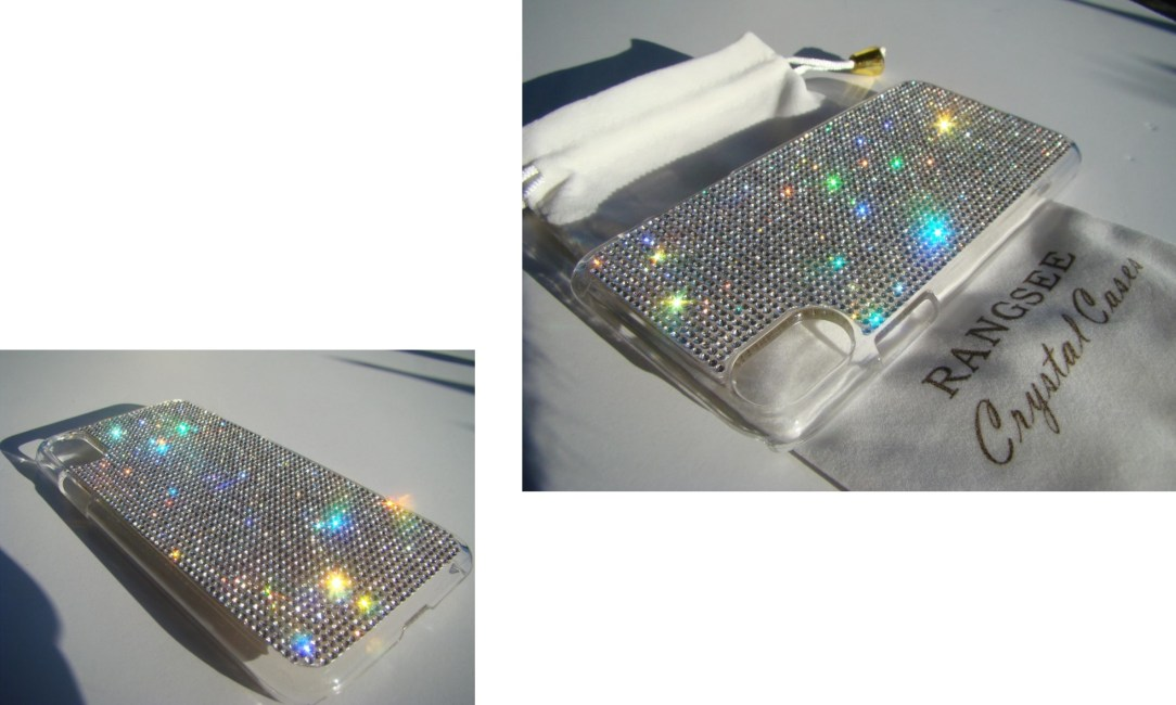 clear crystal rhinestone case (gem names)