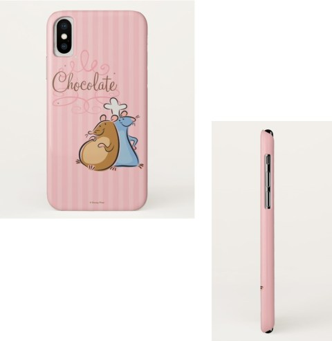 disney chocolate pink phone case