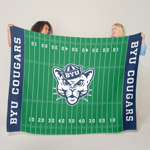 BYU Cougars Fleece Blanket
