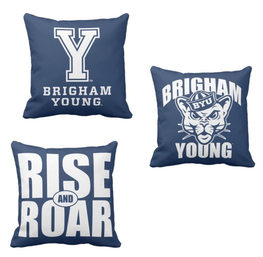 Brigham Young Pillows