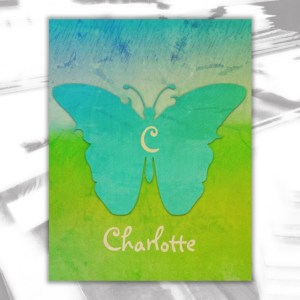 Charlotte Wood Wall Decor by Patricia Griffin